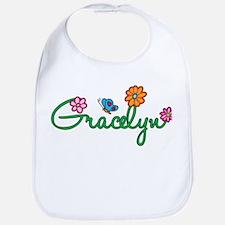 Gracelyn Flowers Bib