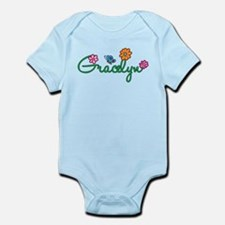 Gracelyn Flowers Infant Bodysuit