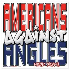 Americans Against Angles [SWA Poster