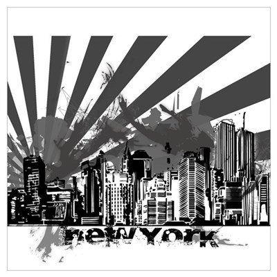 New York Style Poster