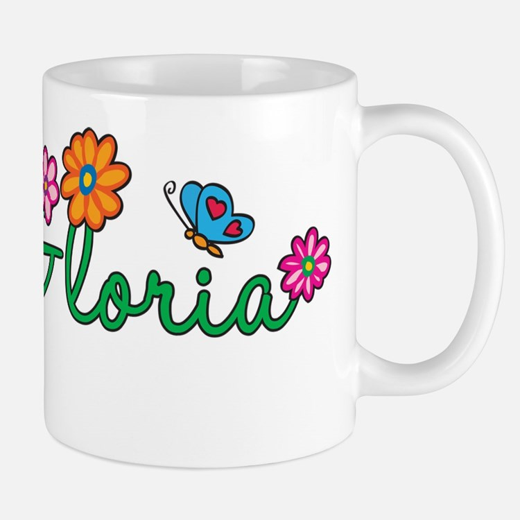 Gloria Flowers Small Small Mug