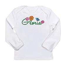 Gloria Flowers Long Sleeve Infant T-Shirt