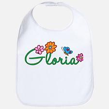 Gloria Flowers Bib