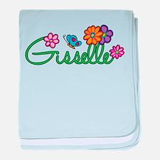 Gisselle Flowers baby blanket