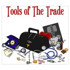 Medical Tools Of The Trade Canvas Art