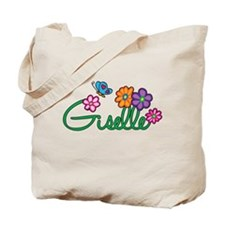 Giselle Flowers Tote Bag
