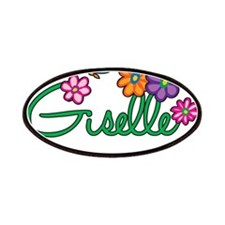 Giselle Flowers Patches