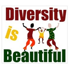 Diversity is Beautiful (3) Framed Print