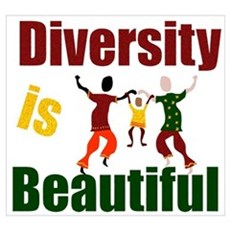 Diversity is Beautiful (3) Poster