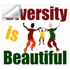 Diversity is Beautiful (3) Wall Decal