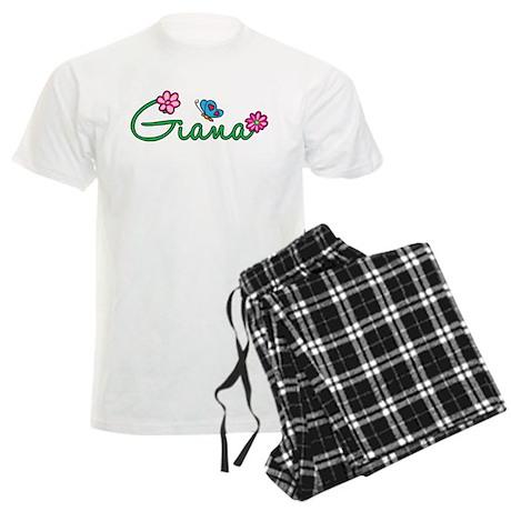 Giana Flowers Men's Light Pajamas