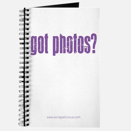 got photos? V.2 - Purple Journal