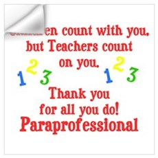 Paraprofessional Wall Decal