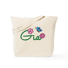 Gia Flowers Tote Bag