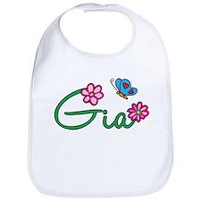 Gia Flowers Bib