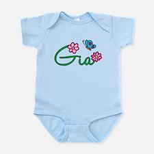 Gia Flowers Infant Bodysuit