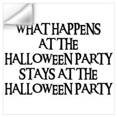 HALLOWEEN PARTY Wall Decal