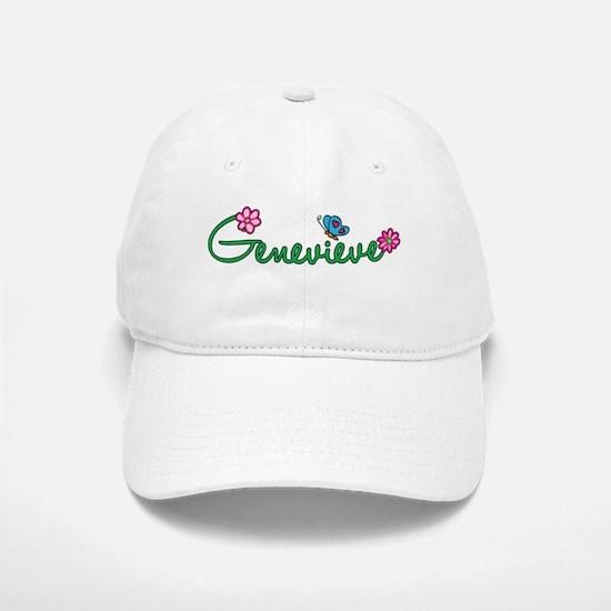 Genevieve Flowers Baseball Baseball Cap