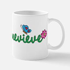 Genevieve Flowers Mug