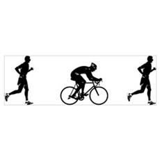 Men's Duathlon Poster