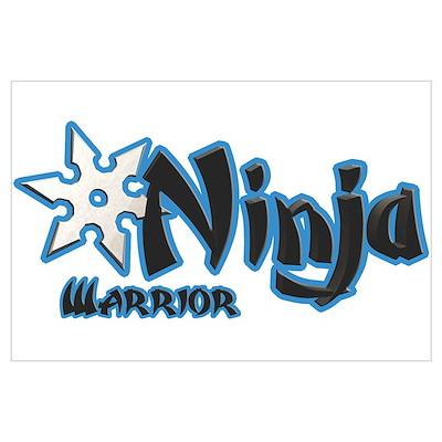 Warrior Ninja Poster