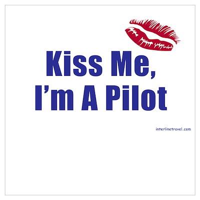 Kiss Me I'm A Pilot II Poster