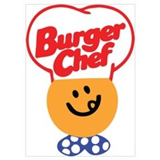 Burger Chef Poster