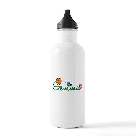 Gemma Flowers Stainless Water Bottle 1.0L