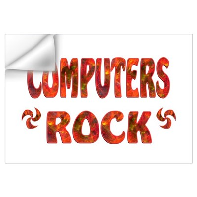 Computers Rock Wall Decal