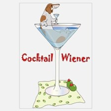 Red Piebald Cocktail Wiener