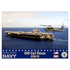 USS Carl Vinson CVN-70 Poster