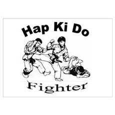 HapKiDo Fighter Poster