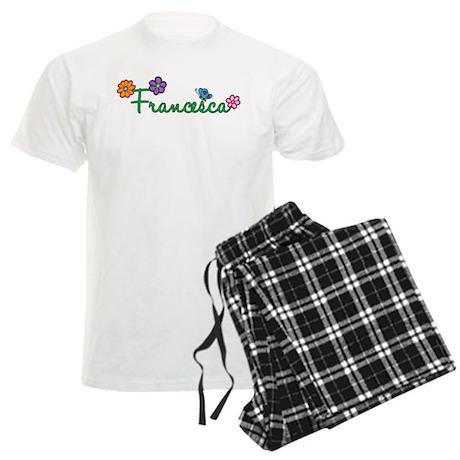 Francesca Flowers Men's Light Pajamas