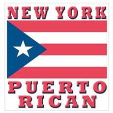 New York Puerto Rican Poster