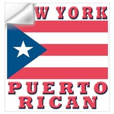 New York Puerto Rican Wall Decal