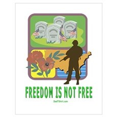 Freedom Is Not Free Poster