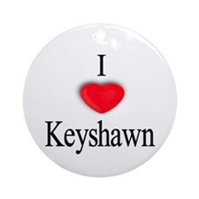 Keyshawn Ornament (Round)