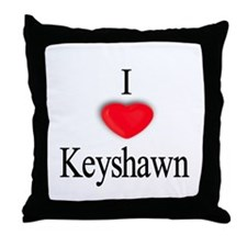 Keyshawn Throw Pillow