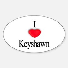 Keyshawn Oval Decal