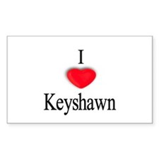 Keyshawn Rectangle Decal