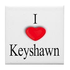 Keyshawn Tile Coaster