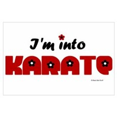 I'm Into Karate (Chick) Poster