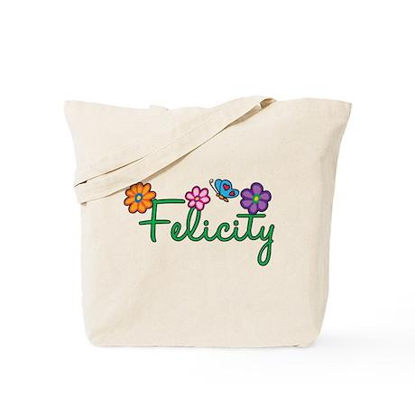 Felicity Flowers Tote Bag