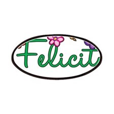 Felicity Flowers Patches