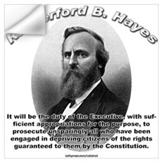 Rutherford B. Hayes 01 Wall Decal