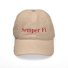 Marine motto Baseball Cap