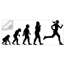 Jogging Wall Decal