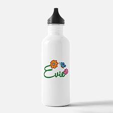 Evie Flowers Water Bottle