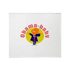 Obama baby 7 Throw Blanket