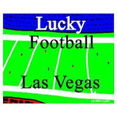 Lucky Football Poster